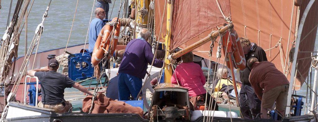 Chartering Ironsides Sailing Barge