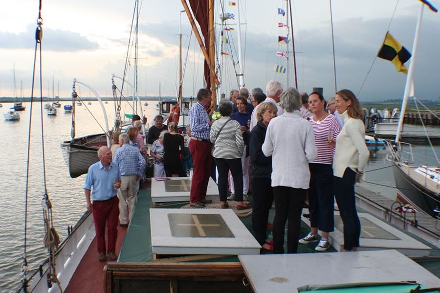 Chartering The Ironsides Sailing Barge
