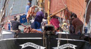 Sailing on Ironsides